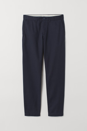 Katoenen chino - Slim fit