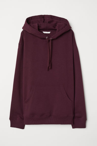 Sudadera con gorro - Plum - Ladies | H&M US