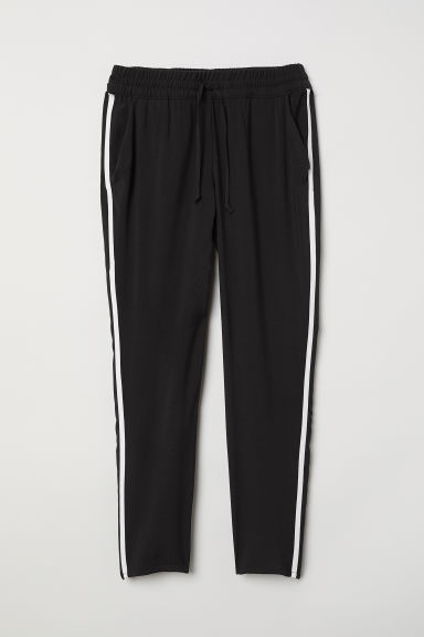 Pull-on trousers - Black -  | H&M CN