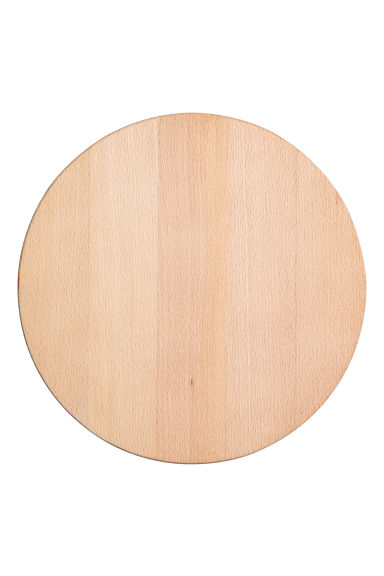 Round chopping board - Natural - Home All | H&M IE