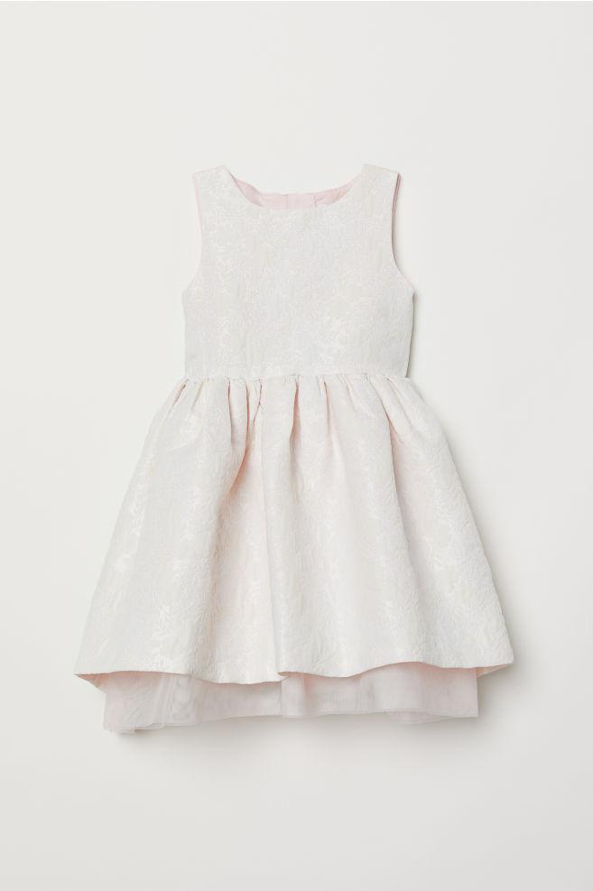 e4b423e634c Jacquard-weave dress - Pink - Kids | H&M ...