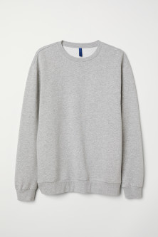Sweat-shirt oversize