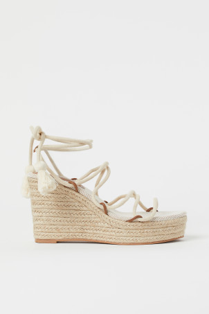 Wedge-heeled SandalsModel