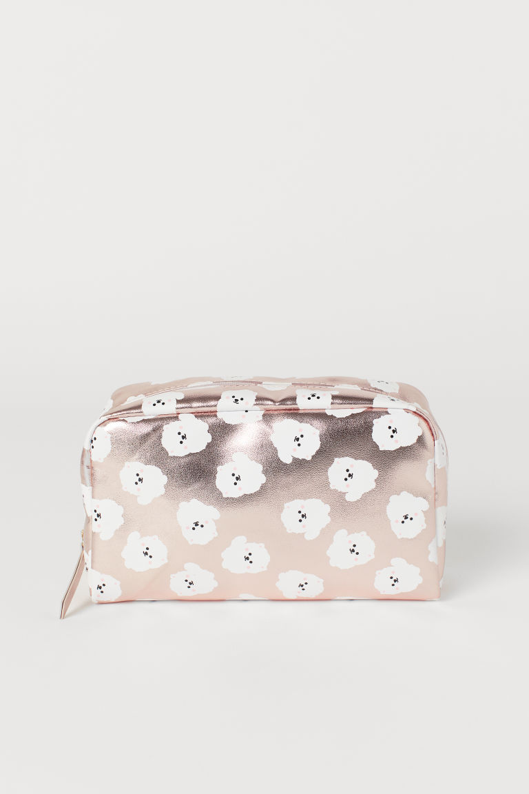 Make-up bag - Pink/Patterned -  | H&M