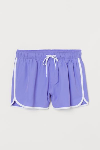 4a84d82f7ff69 Short Swim Shorts - Dark blue - Men | H&M US