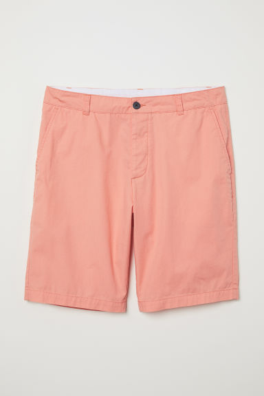 Knee-length cotton shorts - Apricot - Men | H&M