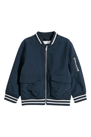 Bomber jacket - Dark blue -  | H&M