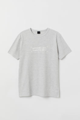 86000ee9654f Мужские футболки и майки на распродаже - Приобретайте онлайн | H&M RU