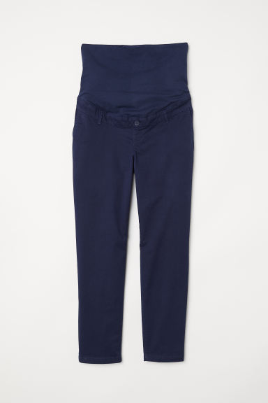 MAMA Chinos - Blu scuro - DONNA | H&M IT
