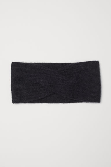 Cashmere headband - Black - Ladies | H&M GB