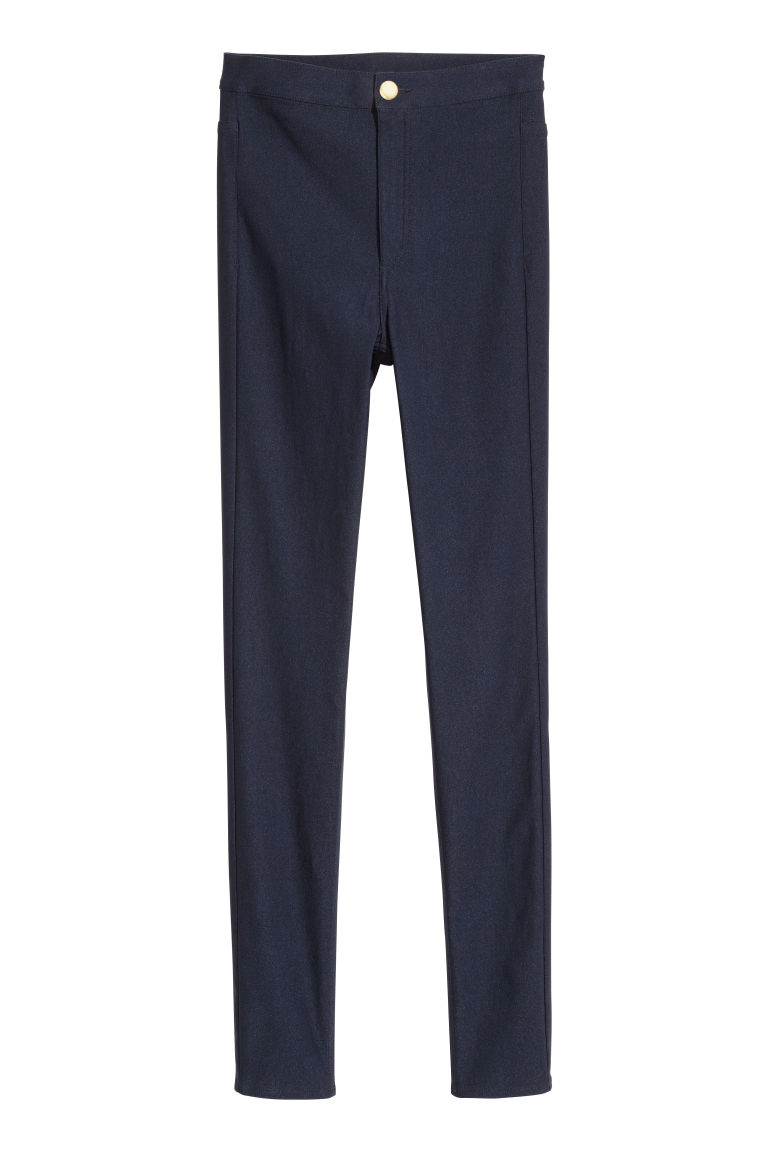 Stretch trousers - Dark blue -  | H&M