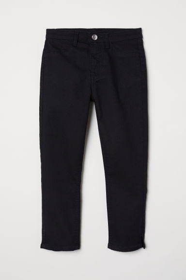 Capri trousers - Black - Kids | H&M CN