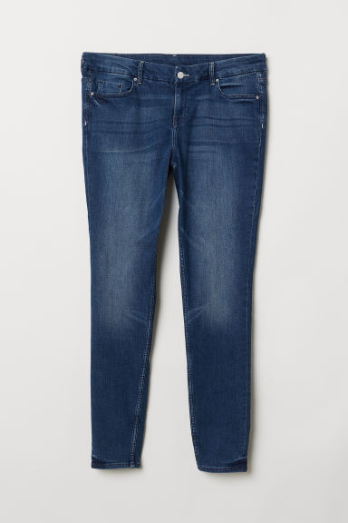 H&M+ Skinny Jeans - Dark denim blue - Ladies | H&M CN