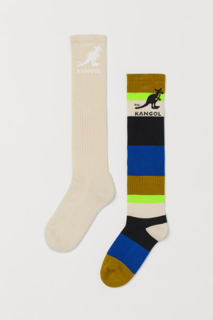 2-pack high-shaft socks