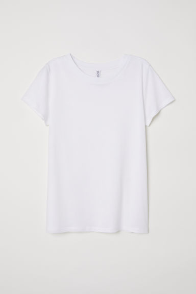 T-shirt - Bianco - DONNA | H&M IT