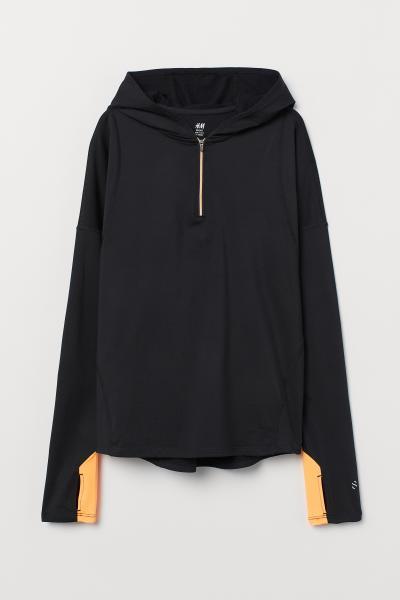H&M - Camiseta de correr con capucha - 5