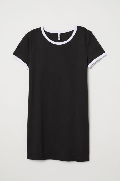 T-shirtjurk - Zwart - DAMES | H&M BE
