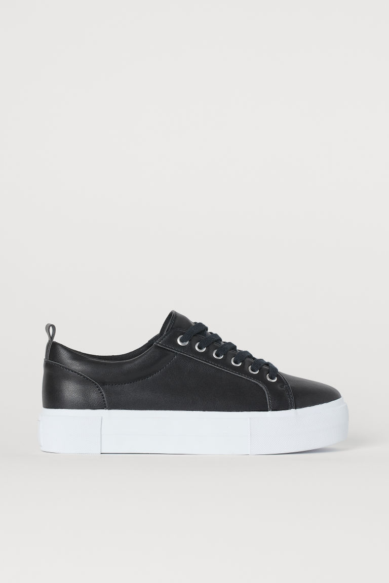 Platform Sneakers - Black -  | H&M US