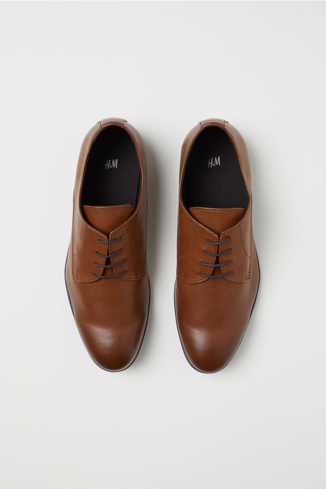 e54686a1f5e03e ... Derby Shoes - Tawny brown - Men