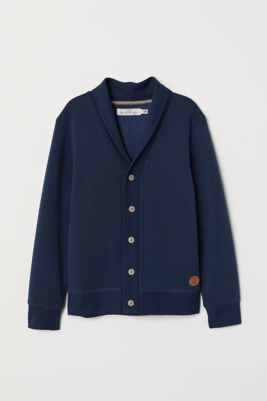 Cardigan - Dark blue - Kids | H&M