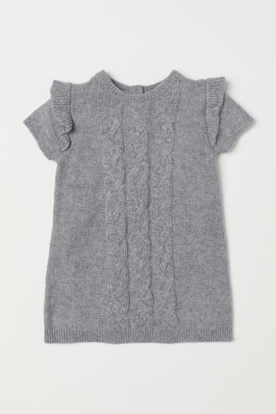 H&M - Robe en maille torsadée - 1