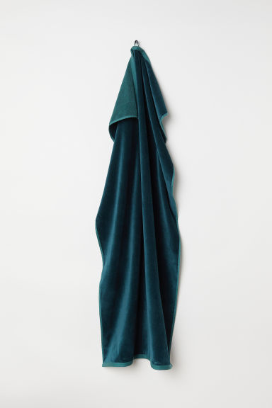 Bath towel - Dark green - Home All | H&M CN