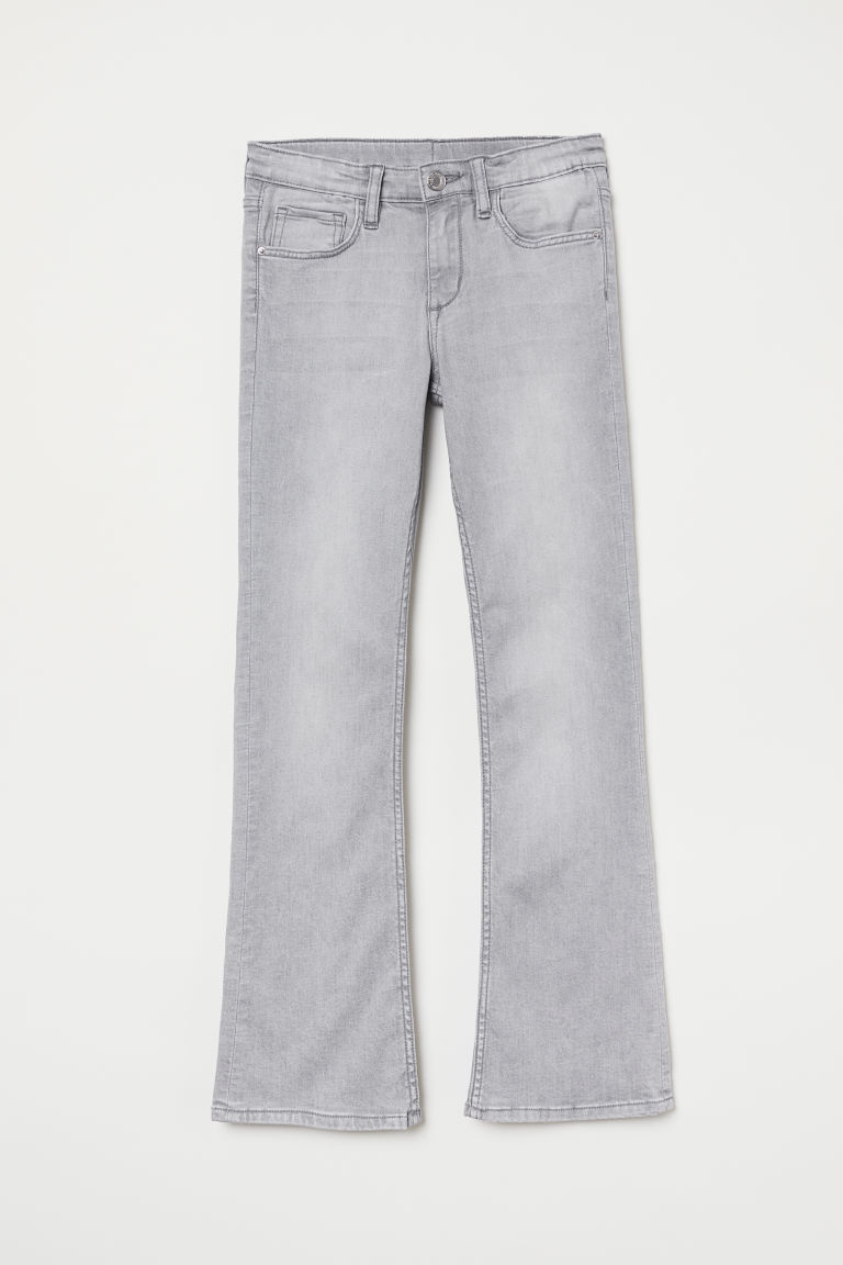 Superstretch Bootcut Jeans - Light grey - Kids | H&M CN