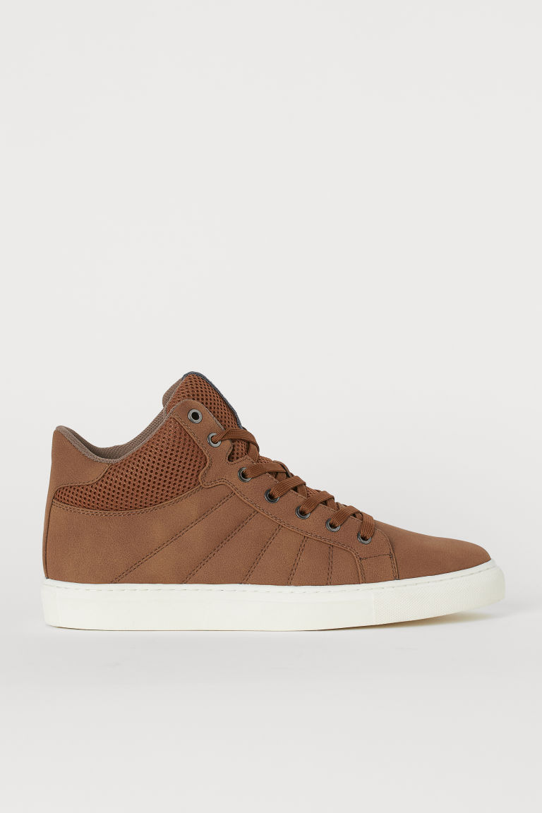 Sneakers alte - Marrone - UOMO | H&M IT