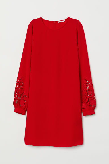 Short dress - Red - Ladies | H&M