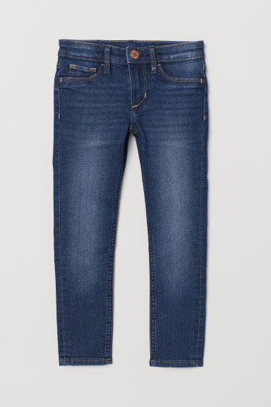 Superstretch Skinny Fit Jeans - Dark denim blue - Kids | H&M GB