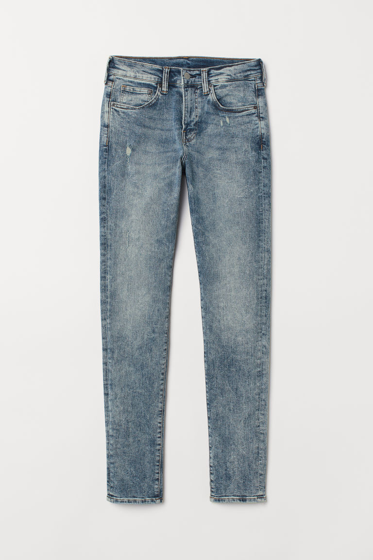 Skinny Jeans - Blau Washed out -  | H&M AT