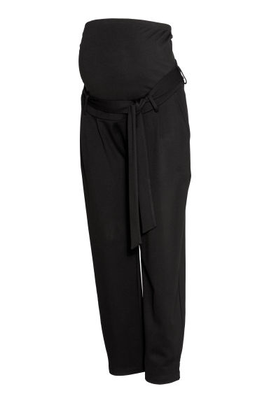 MAMA Jersey trousers - Black - Ladies | H&M