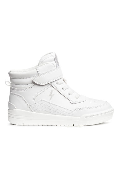 Hi-top trainers - White/Lightning - Kids | H&M CN