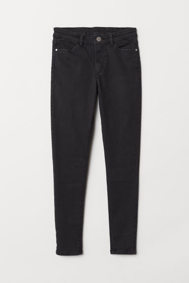 Twill trousers Skinny Fit - Black - Kids | H&M CN