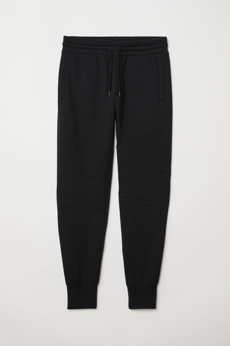 Biker joggers - Black - Men | H&M CN