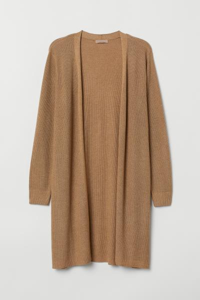 7b64f559335 H&M+ Knitted cardigan