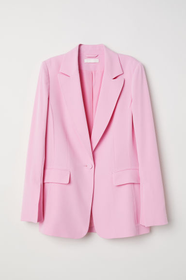 Single-breasted jacket - Light pink - Ladies | H&M