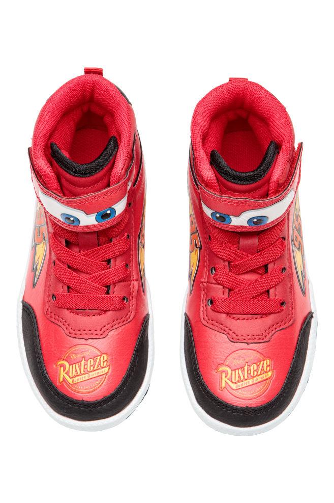 1340670e0 Zapatillas deportivas altas - Rojo Cars - NIÑOS