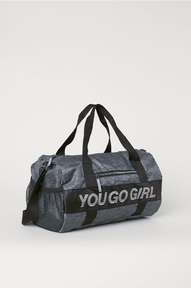 ... Sports bag - Black marl - Kids  8e081ec6d8ebe