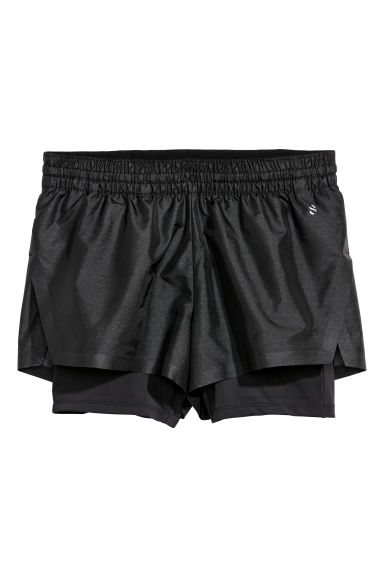 Sports shorts - Black - Ladies | H&M CN