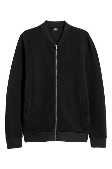 Pullover con mezza cerniera - Nero -  | H&M IT