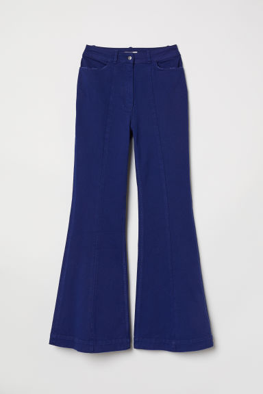 Flare High Jeans - Blu scuro - DONNA | H&M IT