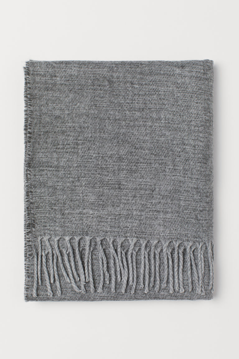Scarf - Gray melange - Men | H&M US