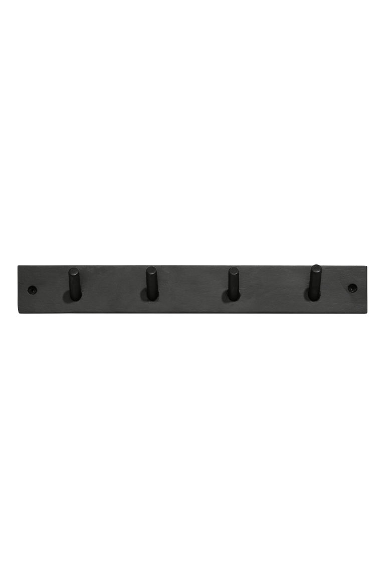 Wooden peg rail - Anthracite grey - Home All | H&M GB