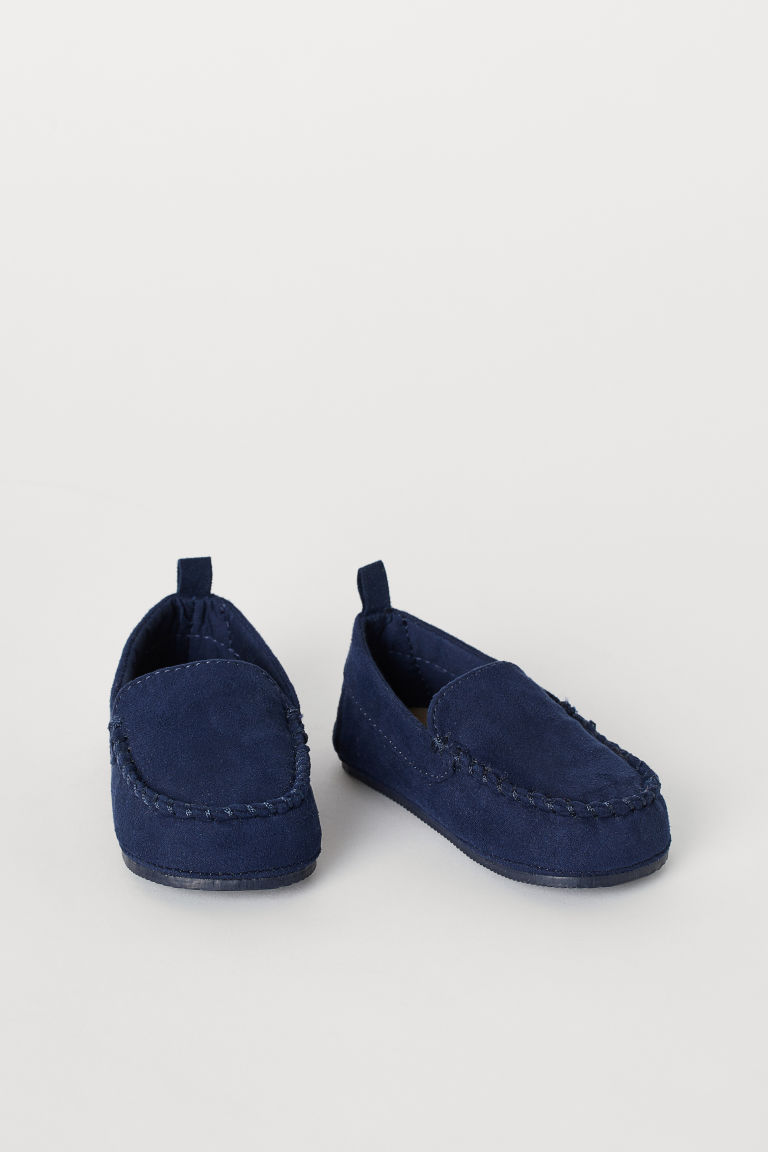 Loafers - Dark blue - Kids | H&M GB