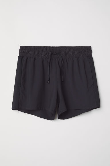 Shorts sportivi - Nero - DONNA | H&M IT