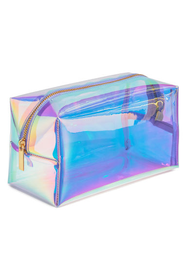 Transparent make-up bag - Purple - Ladies | H&M GB