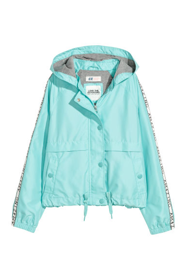 Veste outdoor - Turquoise clair -  | H&M CH