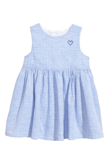 Cotton dress - Blue - Kids | H&M