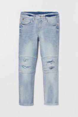 e4b11d746a0 Skinny Fit Biker Jeans